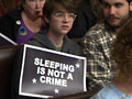 Santa Cruz City Council Votes Down Change to Sleeping Ban Law