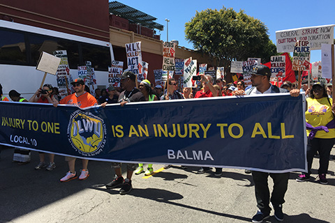 May Day in the Bay 2016