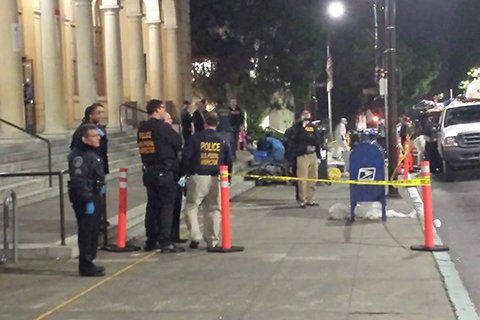 Long-Time Berkeley Post Office Occupation Ends with Early Morning Raid