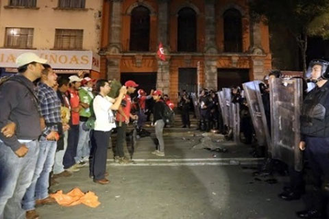 Teachers On Strike Throughout Mexico