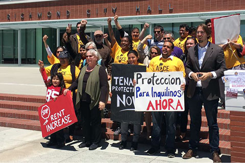 Richmond Activists Wrap Up Renter Protection Signature Gathering Campaign