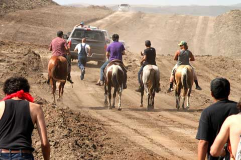 Protection of Sacred Sites Leads to Clash with Dakota Access Pipeline Private Security