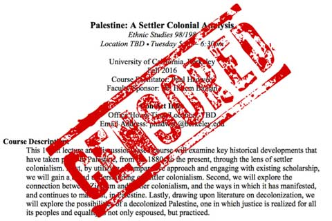 UC Berkeley Reinstates Course on Palestine Following Outcry