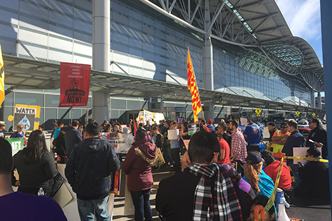 Low-wage Workers Rise Up at SFO