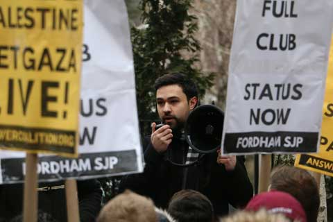 Fordham University Doubles Down on Students for Justice in Palestine Ban