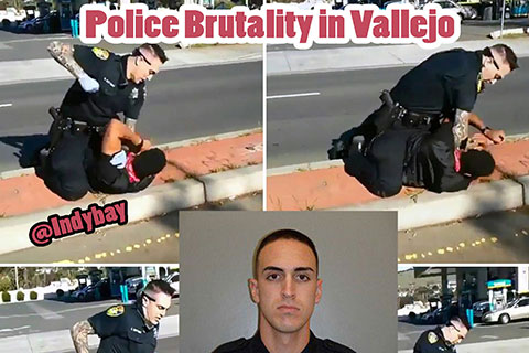 Police Brutality Captured on Film in Vallejo, California