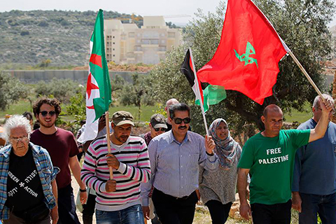 West Bank Marks 41st Anniversary of Land Day
