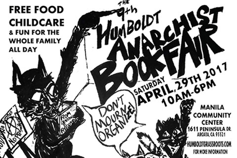 Humboldt Anarchist Bookfair: The Reading Rainbow of Resistance