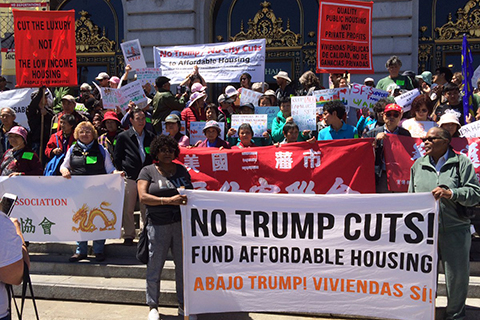 Rallies in the Bay Area and Across the Nation to Save Affordable Housing