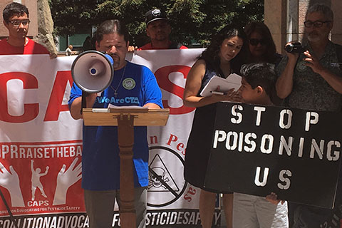 Air Testing Shows Unsafe Levels of Brain-Harming Pesticide in Kern County