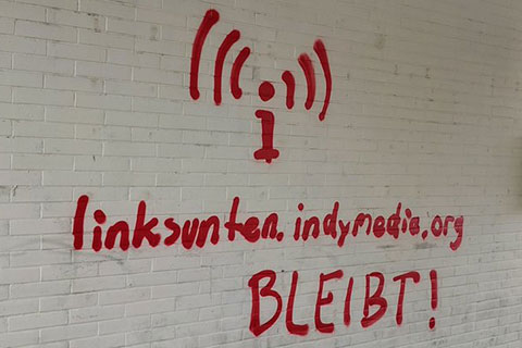 "Linksunten Indymedia, Shut Down By German Government, Announces ""We Will Be Back Soon"""