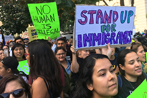 Thousands Hit the Streets to Defend DACA
