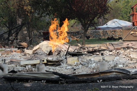 Children, the Elderly and Immigrants Affected by Northern California Wildfires