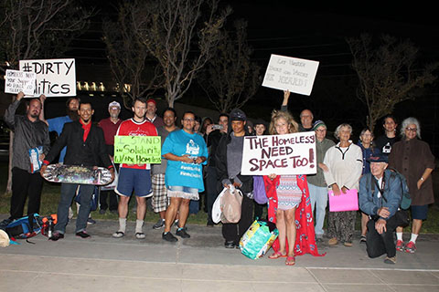 Direct Action in Support of Fresno's Homeless Community