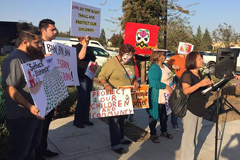 Day of the Dead Action Demands Ban on Chlorpyrifos