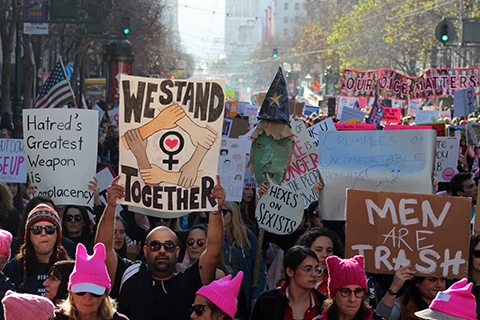 Millions of Women March Worldwide