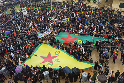 Solidarity with Afrin and the Rojava Revolution