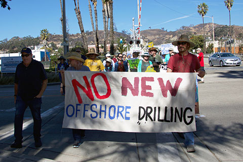 Californians Rally Against Offshore Drilling