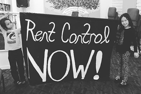 "Communities Across California Demand ""Rent Control Now!"""