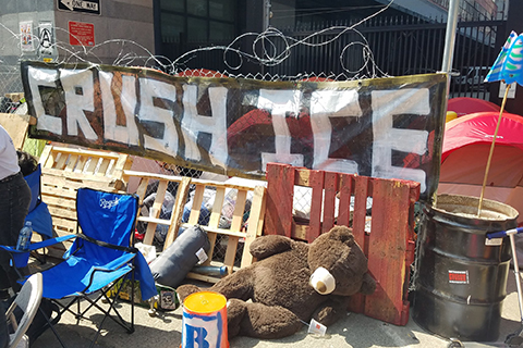 Occupy ICE San Francisco Calls for Abolishment of Federal Agency