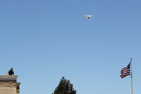 Alameda and Contra Costa County Sheriffs Flew Drones Over Protests