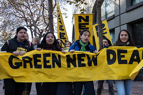 Demands Grow for a Green New Deal