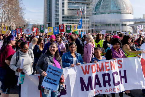 San Francisco Bay Area Women's Marches Largely Inclusive This Year