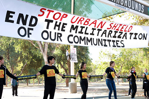 Six Years of Work to Demilitarize Urban Shield on the Line