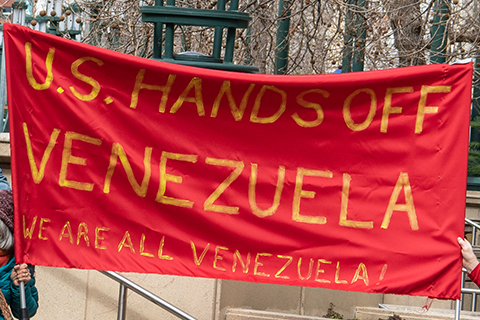 Bay Area Says Hands Off Venezuela