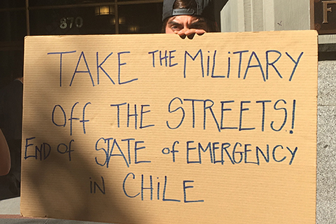 Solidarity with Chile's Rebellion in San Francisco