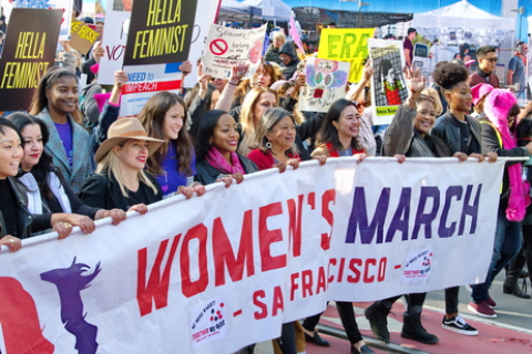 Fourth Annual Women's March in Cities Across the Country