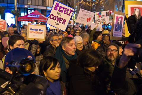 "Bay Area In Nationwide ""Reject The Coverup"" Protest"