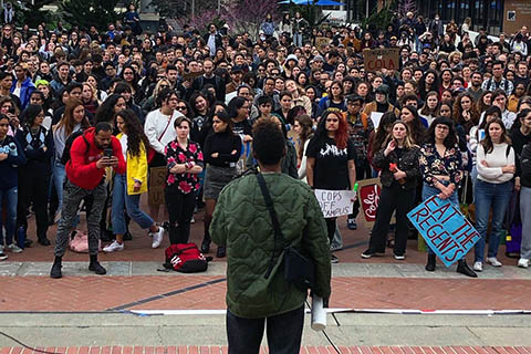 Massive Turnout at UC Berkeley Day of Action
