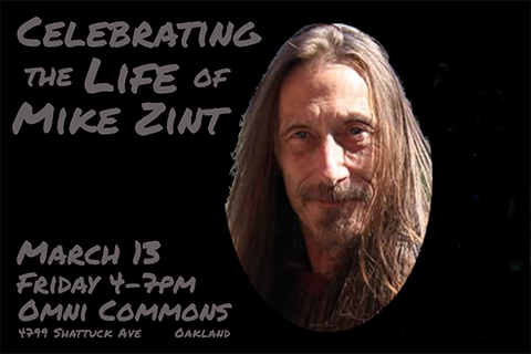 Celebrating the Life of Mike Zint