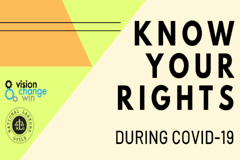 Know Your Rights During COVID-19 Shelter In Place Orders
