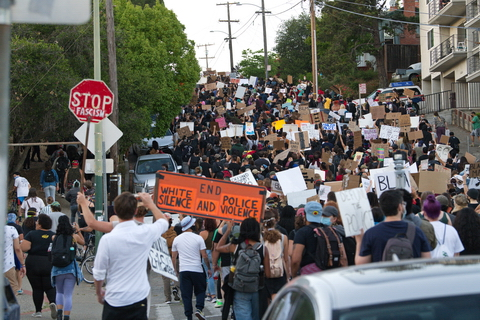 Oakland Youths in Protest to Rid Schools of Police