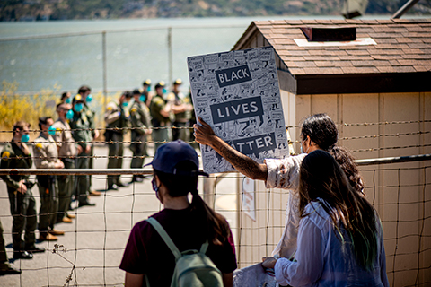 Protests Grow As Coronavirus Infections Spread Amongst Prisoners at San Quentin