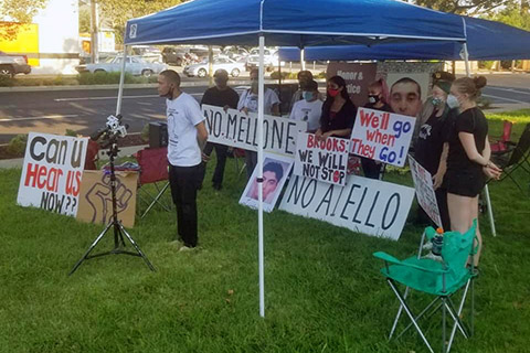 Hunger Strike Antioch Demands Justice and Accountability