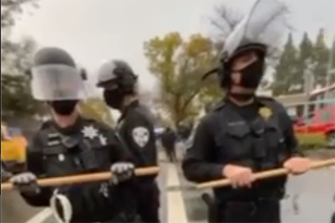 Vacaville Police Target Mutual Aid Event, Arrests and Assaults Activists